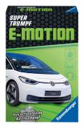 32 Blatt Ravensburger Kinder Kartenspiel Supertrumpf E-Motion 20682