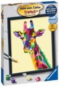Ravensburger Malen nach Zahlen Trend Serie C Bunte Giraffe 28926