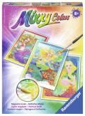 Ravensburger Mixxy Colors Wasserfarben Midi 3er Set Welt der Meerjungfrauen 29117