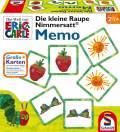 24 Karten Schmidt Spiele Kinderspiel Legekartenspiel Memo Die kleine Raupe Nimmersatt 40455