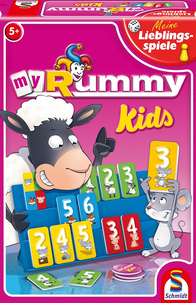 Schmidt Spiele Meine Lieblingsspiele Zahlenlernspiel MyRummy Junior 40544