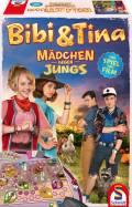 Schmidt Spiele Kinderspiel Merk- und Suchspiel Mädchen gegen Jungs Spiel Film Bibi & Tina 3 40574