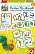 Schmidt Spiele Kinderspiel Spielesammlung Erster Spielspaß Die kleine Raupe Nimmersatt 40576