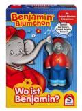 Schmidt Spiele Kinderspiel Merk- und Suchspiel Wo ist Benjamin? Benjamin Blümchen 40580