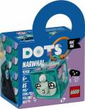 LEGO® DOTS Taschenanhänger Narwal 85 Teile 41928