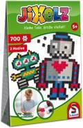 700 Teile Schmidt Spiele Kinder JiXelz Roboter 2 Motive 46114