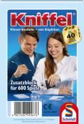 1 Schmidt Spiele Kniffelblock für 600 Spiele 49067