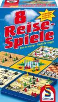 Schmidt Spiele Reisespiele Spielesammlung 8 Reise-Spiele, magnetisch 49102