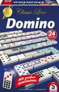 Schmidt Spiele Familienspiel Zuordnungsspiel Domino mit extra großen Spielfiguren 49207