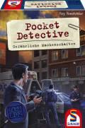 Schmidt Spiele Familienspiel Pocket Detective Gefährliche Machenschaften 49378