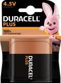 1 Duracell Plus 4,5V Alkaline 100% Life guaranteed Batterie Blister