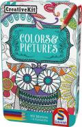 Schmidt Spiele Reisespiel Beschäftigungsspiel Creative Kit, Colors & Pictures 51403