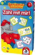 Schmidt Spiele Reisespiel Zahlenlernspiel Zähl mit mir! Benjamin Blümchen 51407