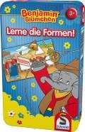 Schmidt Spiele Reisespiel Lernspiel Lerne die Formen! Benjamin Blümchen 51409
