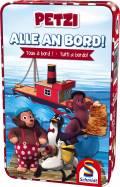 Schmidt Spiele Reisespiel Würfellaufspiel Alle an Bord! Petzi 51418