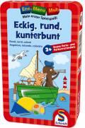 Schmidt Spiele Ene Mene Muh Würfelspiel Eckig, rund, kunterbunt 51422