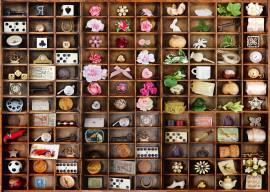 2000 Teile Schmidt Spiele Puzzle Kleine Schätze im Setzkasten 58326 - Bild vergrößern