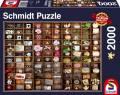 2000 Teile Schmidt Spiele Puzzle Kleine Schätze im Setzkasten 58326