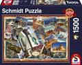 1500 Teile Schmidt Spiele Puzzle Grüße aus aller Welt 58343