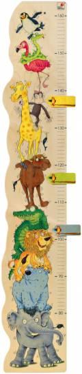 Selecta Schönes & Nützliches Holz Messlatte Zoorino 80 cm - 160 cm 60000
