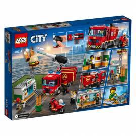 LEGO® City Feuerwehr Feuerwehreinsatz im Burger-Restaurant 327 Teile 60214 - Bild vergrößern