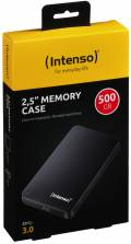 Intenso HDD externe Festplatte Memory Case 2,5 Zoll 500GB USB 3.0 schwarz