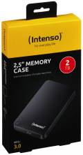 Intenso HDD externe Festplatte Memory Case 2,5 Zoll 2TB USB 3.0 schwarz