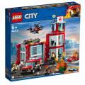 LEGO® City Feuerwehr Station 509 Teile 60215