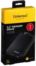 Intenso HDD externe Festplatte Memory Drive 2,5 Zoll 1TB USB 3.0 schwarz