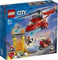 LEGO® City Feuerwehrhubschrauber 212 Teile 60281