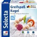 Selecta Babywelt Holz Greifling Greifspaß Kugel Rasselgreifling 61000