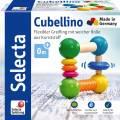 Selecta Babywelt Holz Greifling Cubellino flexible weicher Rolle 61006