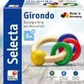 Selecta Babywelt Holz Greifling Girondo rund Ringe 61036