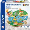 Selecta Kleinkindwelt Holz Formenschubser Tiere und Formen Sortierfunktion 62044