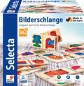 Selecta Kleinkindwelt Holz Legespiel Bilderschlange 20 Teile 62056