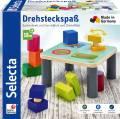 Selecta Kleinkindwelt Holz Drehsteckspaß Durchblick und Dreheffekt 62059