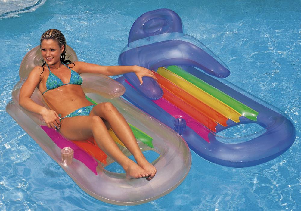 Intex Schwimmliege Lounge King Kool 160cm x 85cm zufällige Auswahl 58802EU