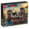 LEGO® NINJAGO City Hafen 3553 Teile 70657