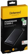Intenso Powerbank mobile Ladestation Slim S 10000 C 10000 mAh 2x USB OUT schwarz