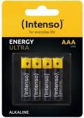 4 Intenso Energy Ultra AAA / Micro Alkaline Batterien im 4er Blister