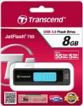 Transcend USB Stick 8GB Speicherstick JetFlash 760 USB 3.0