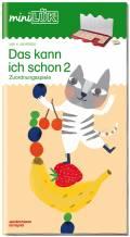 LÜK miniLÜK Buch Das kann ich schon 2 ab 4 Jahren 0322