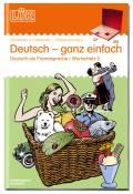 LÜK Buch Deutsch ganz einfach 2 ab 6 Jahren 0912
