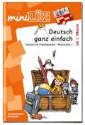 LÜK miniLÜK Buch Deutsch ganz einfach 1 ab 6 Jahren 4116