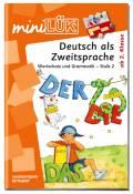 LÜK miniLÜK Buch Deutsch als Zweitsprache 2 ab 6 Jahren 4132