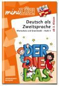LÜK miniLÜK Buch Deutsch als Zweitsprache 3 ab 8 Jahren 4133