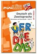 LÜK miniLÜK Buch Deutsch als Zweitsprache 4 ab 9 Jahren 4134