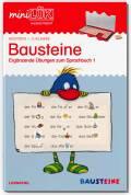 LÜK miniLÜK Buch Bausteine Teil 1 2. Klasse ab 7 Jahren 4246