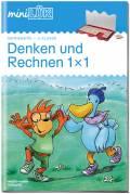 LÜK miniLÜK Buch Denken und Rechnen 1x1 ab 7 Jahren 4273