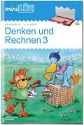 LÜK miniLÜK Buch Denken und Rechnen 3 ab 8 Jahren 4274